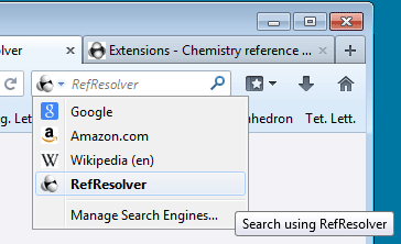 OpenSearch for Reference Resolver